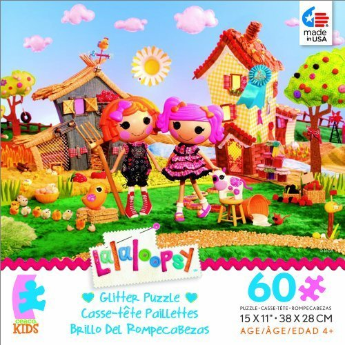 Ceaco Lalaloopsy Glitter Series Sunny Side up 60 Piece Puzzle (Lalaloopsy Sunny Side Up compare prices)
