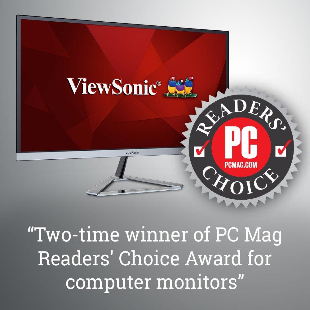 ViewSonic VG2437SMC 24'' 1080p Ergonomic Monitor DisplayPort, DVI, VGA, WebCam by ViewSonic (Image #8)