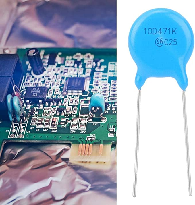 50 Stück Set Varistoren Varistoren Inline Hochwertige 10d471k 10k471 10mm Durchmesser 470v Elektronische Komponenten Beleuchtung
