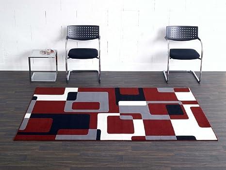 Tappeti Soggiorno Moderno : Tappeto retro rosso grigio nero beige tappeto moderno soggiorno