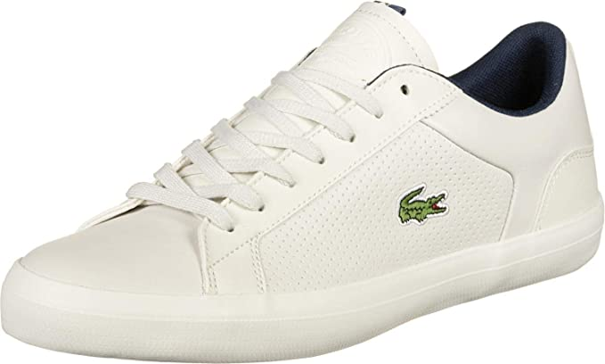 820dcdb26 Lacoste Men s Lerond 418 1 CAM Leather Trainers