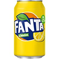 Fanta Ice lemon Blikjes 33cl Tray 24 stuks Frisdrank