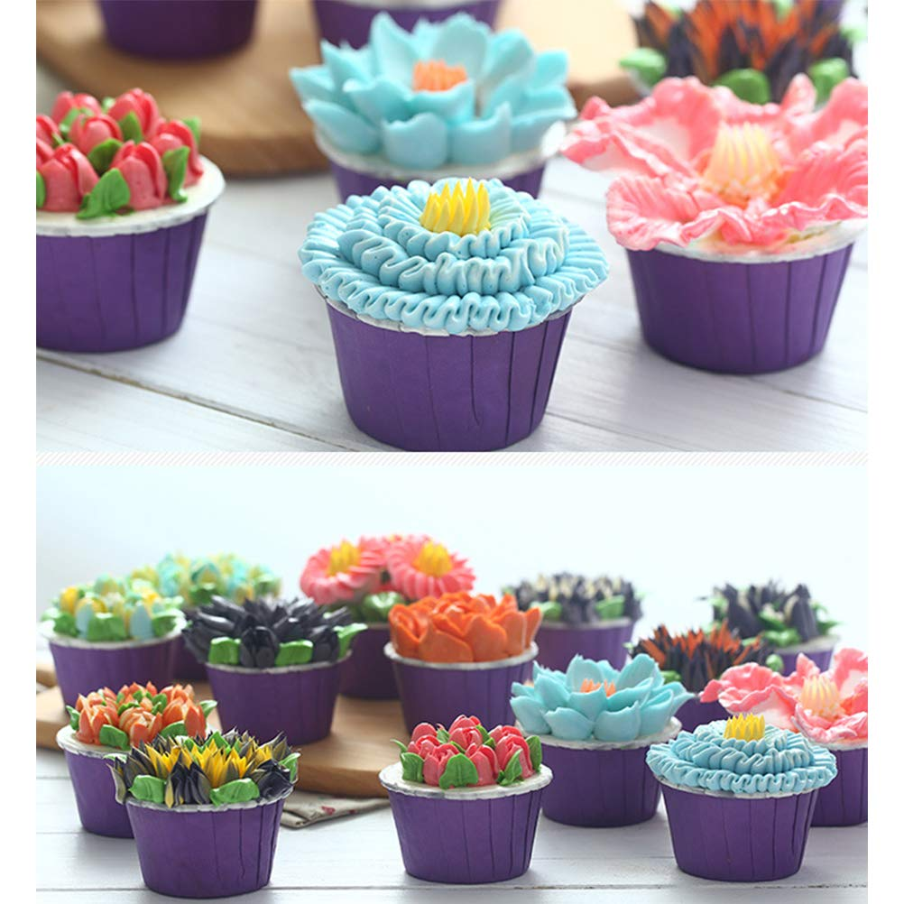 Punte per Decorare Torte per Biscotti Cupcakes Kylewo 13tlg Bocche Grande Set Russo di Acciaio Inossidabile Set beccuccio