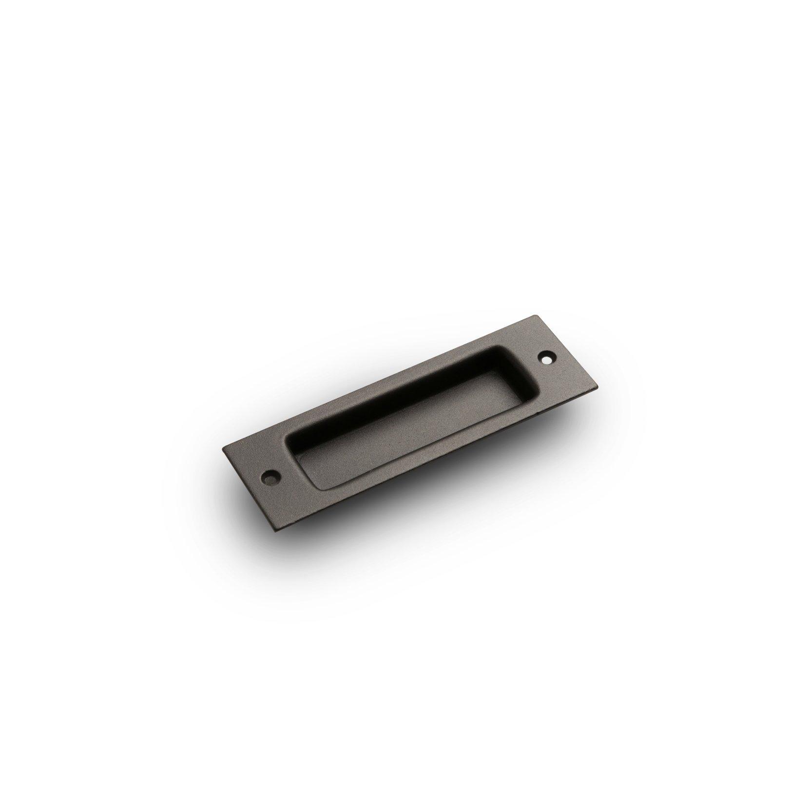 Flush Barn Door Handle Pull Grab for Sliding BarnDoor Hardware Artisan Hardware (Oil Rubbed Bronze)