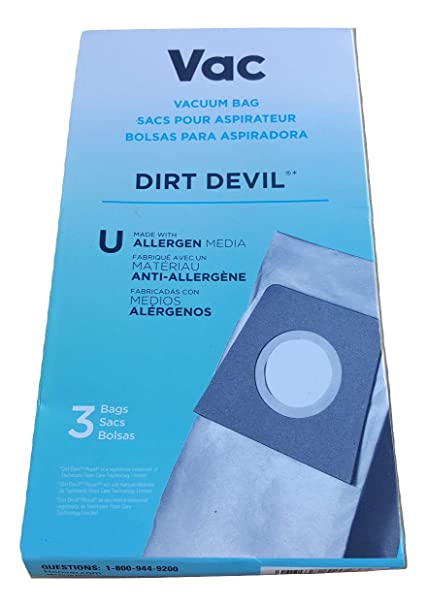 Amazon.com - LOT: 3 Boxes (9 bags) of Dirt Devil Vacuum Bags ...