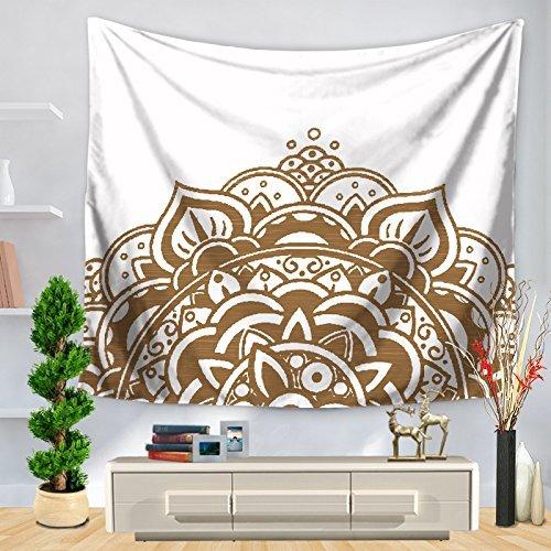 ★大人気商品★ ホームテーブルクロス ホームタペストリー、塗装ハーフパターンプリント、家庭用壁掛け装飾ブランケット(カラー:ホワイト、サイズ:150 サイズ* 200CM) 200CM) 美しいタペストリーのために (色 150*200CM : White, サイズ : 150*200CM) 150*200CM White B07MSB1X8C, バンブルー Vent Bleu:0d172b41 --- 4x4.lt