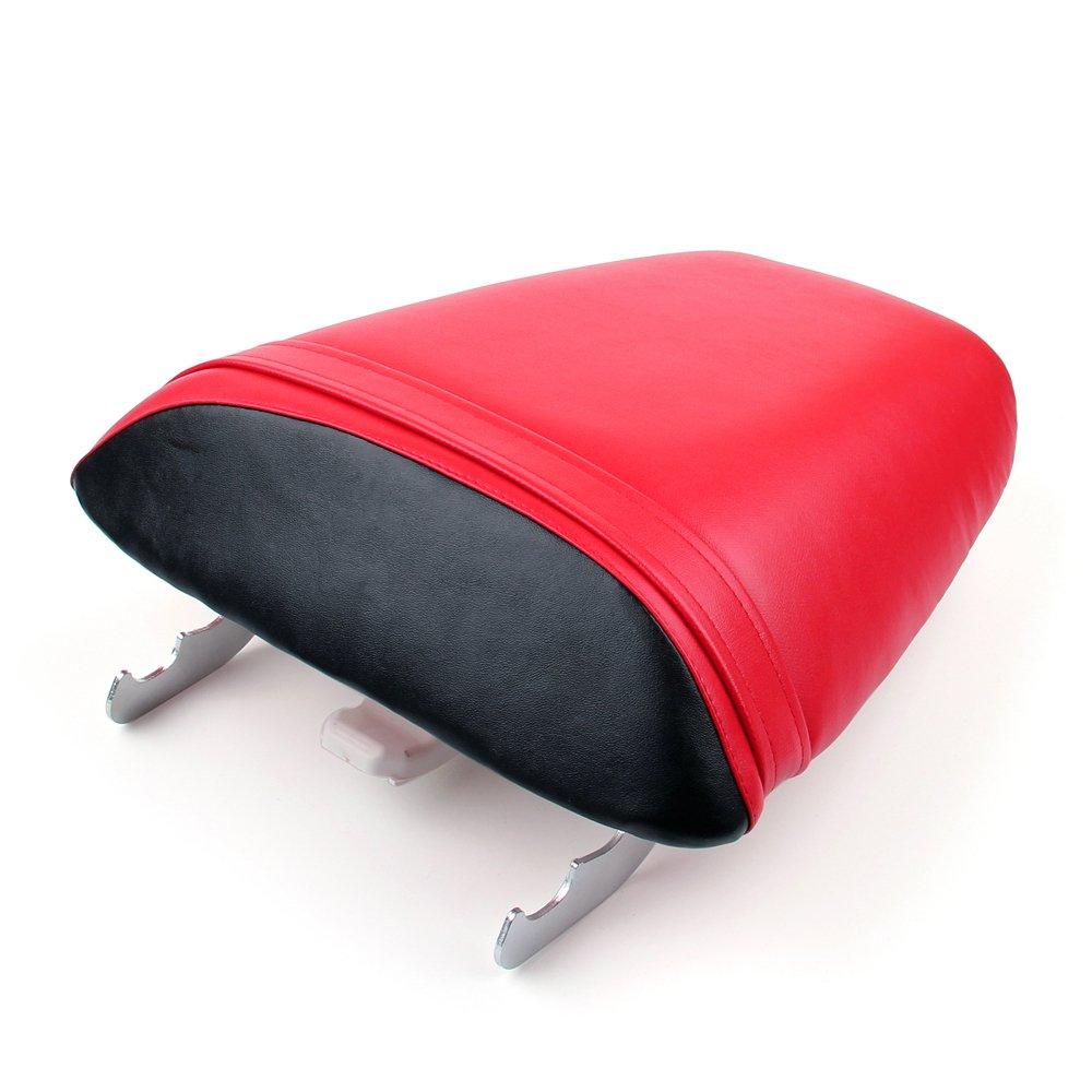 Areyourshop Passenger Rear Seat Leather Pillon For Honda CBR600 F4i 2001-2007 2006 2005