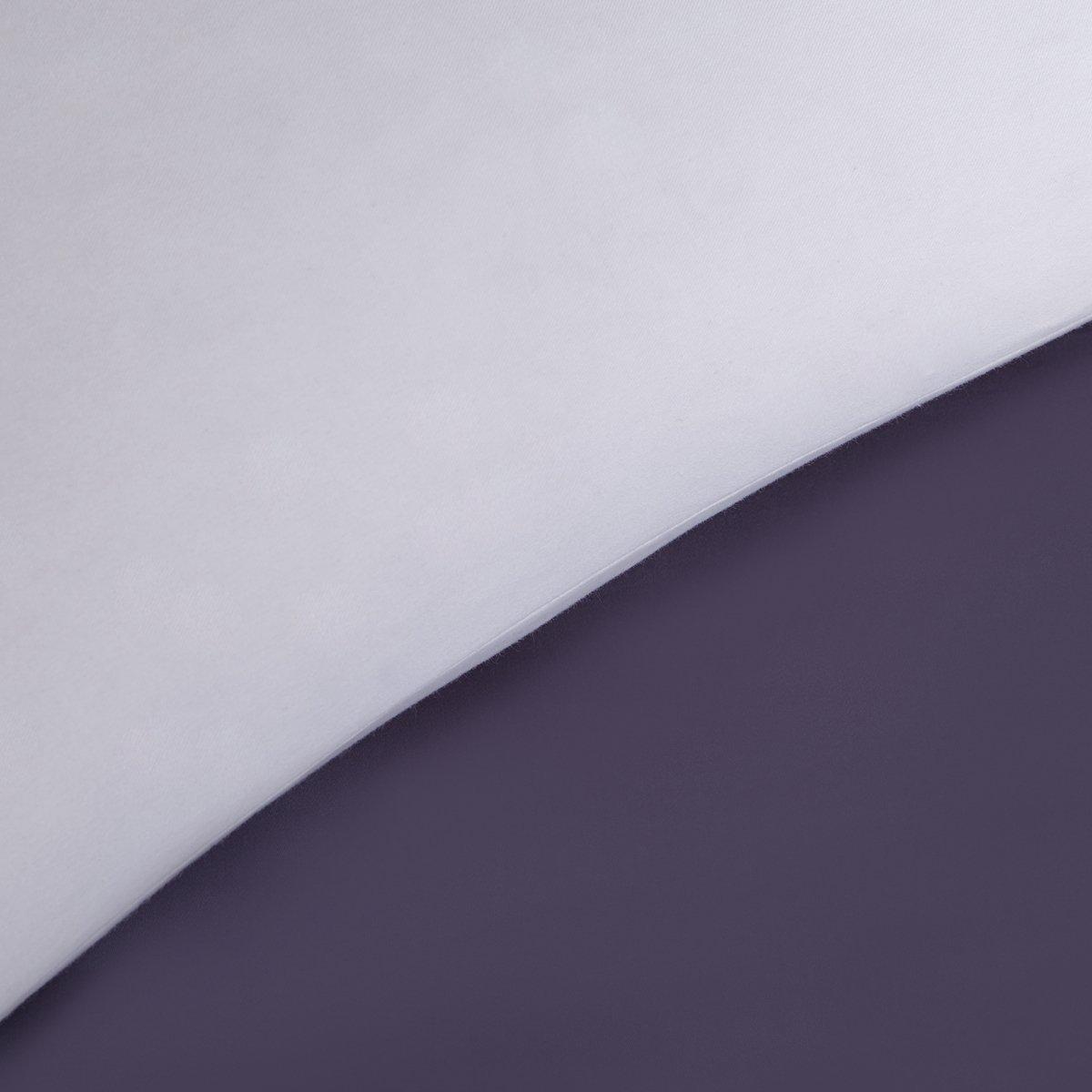 puredown/® Pack de 2 Relleno de Coj/ín Almohadas Cuadradas de Plumas Lavable a M/áquina Cubierta 100/% Algod/ón 50x50cm