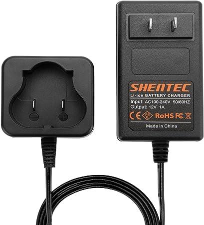 Amazon.com: Shentec - Cargador de batería de litio de 12 V ...