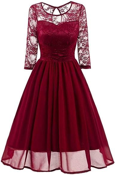 Vestiti Ragazza Eleganti.Kword Vestiti Donna Eleganti Pizzo Anni 50 Vintage Vestiti