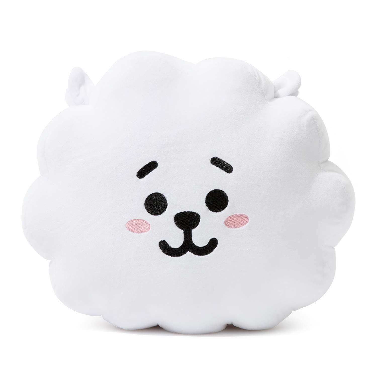 BT21 Official Merchandise by Line Friends - RJ Decorative Throw Pillows Cushion, 11 Inch by BT21