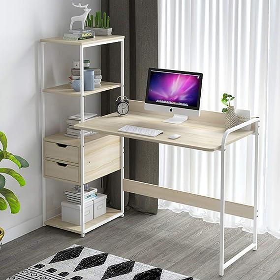 Mesas Para Ordenador Con Estantes,escritorio De Computadora ...