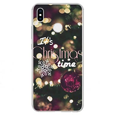 Amazon.com: KCHHA Phone case Merry Christmas TPU Cover for ...