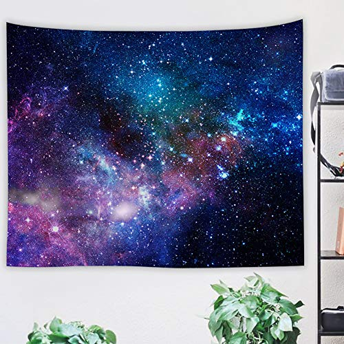 BeGrit Starry Sky Tapestry 3D Printing Stars Tablecloth Sheet Art Classic Wall Hanging Tapestries for Living Room 150x100cm