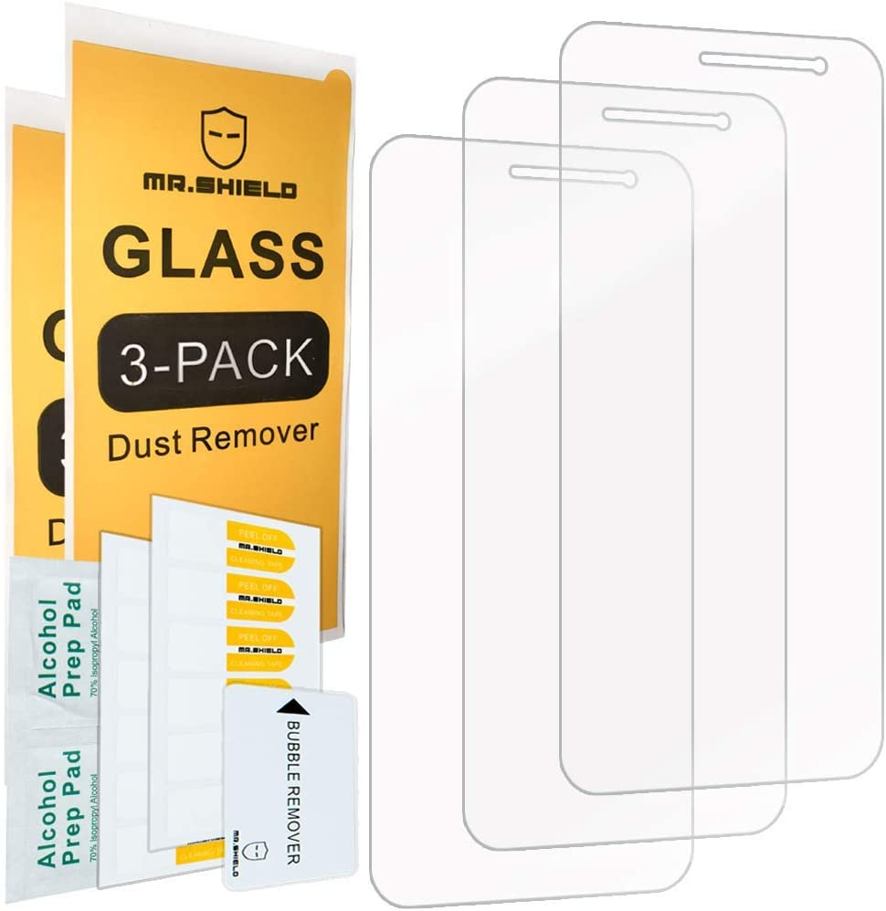 [3-Pack]- Mr.Shield for Samsung Galaxy J2 Dash [Tempered Glass] Screen Protector [Japan Glass with 9H Hardness] with Lifetime Replacement