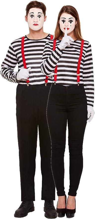 Disfraz de circo para parejas y hombres con rayas francesas ...