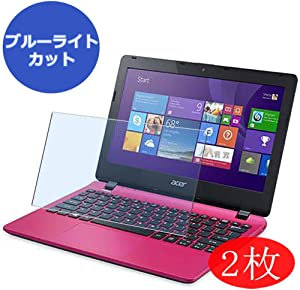 """【2 Pack】 Synvy Anti Blue Light Screen Protector for Acer Aspire E3-111 / E3-112M 11.6"""" Screen Film Protective Protectors [Not Tempered Glass]"""