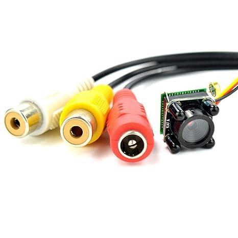 Jeemak HD Mini cámara IR de visión Nocturna cámara de Seguridad Micro 600tvl cámara espía