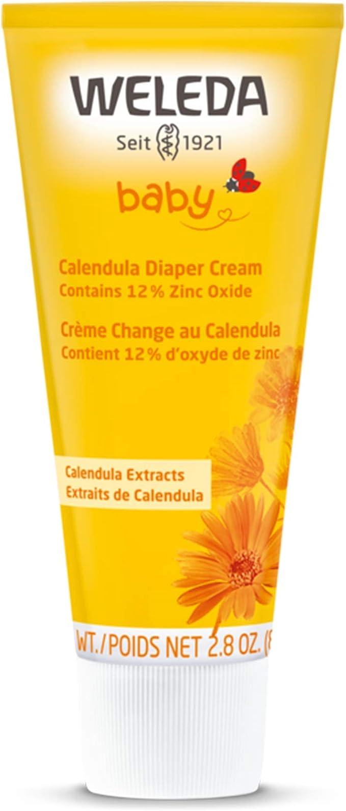 Amazon.com: Weleda Baby Calendula Diaper Cream, 2.8 Ounce: Health & Personal Care