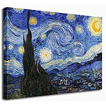 Amazon Com Extra Large Wall Art Decor The Starry Night By