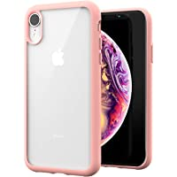 ZUSLAB Tough Fusion Case Compatible with Apple iPhone XR Shock Absorption Rubber Bumper Protective Case Transparent Hard…
