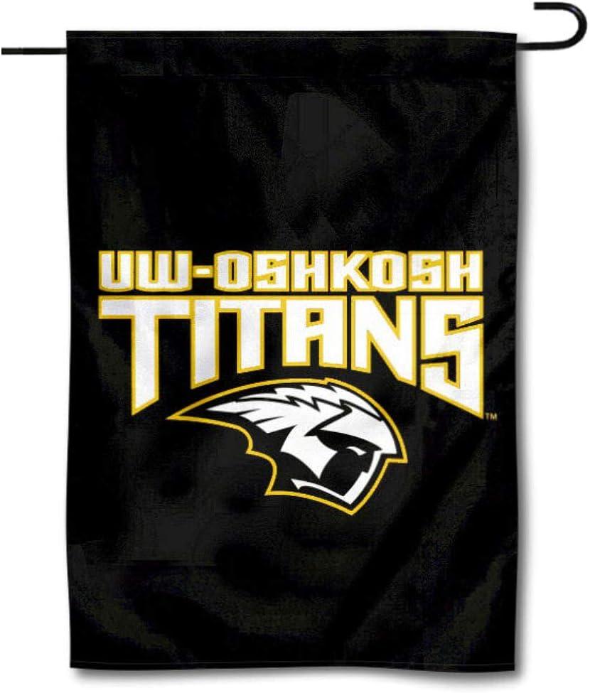 College Flags & Banners Co. Wisconsin OshKosh Titans Garden Flag