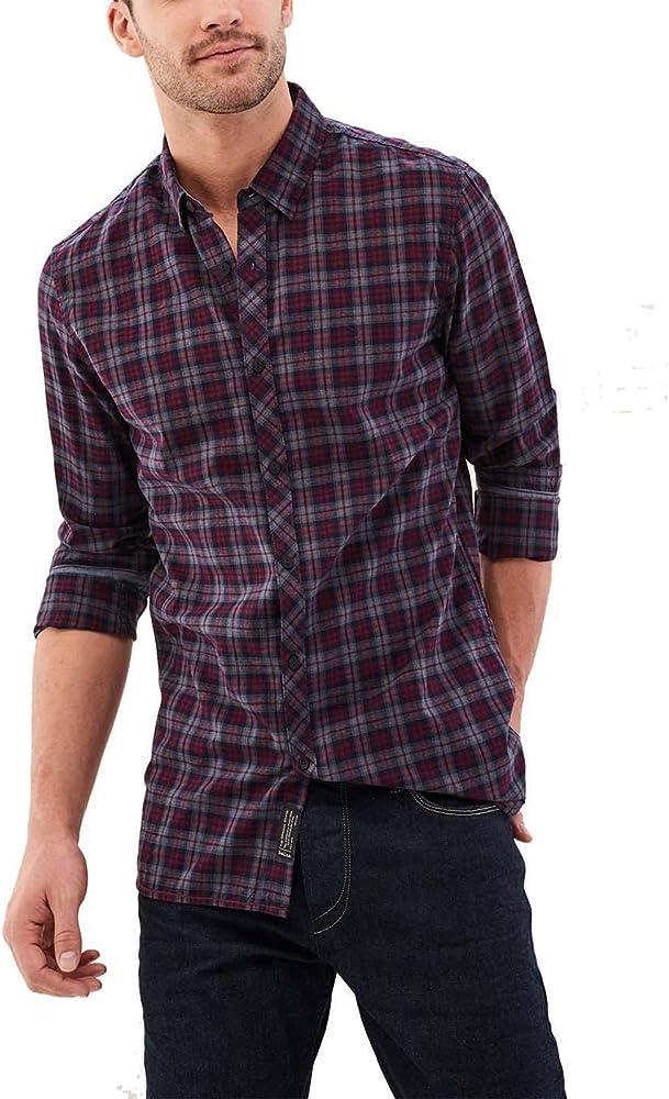 Camisa Salsa Ajedrez Morado XXX-Large Morado: Amazon.es: Ropa y accesorios