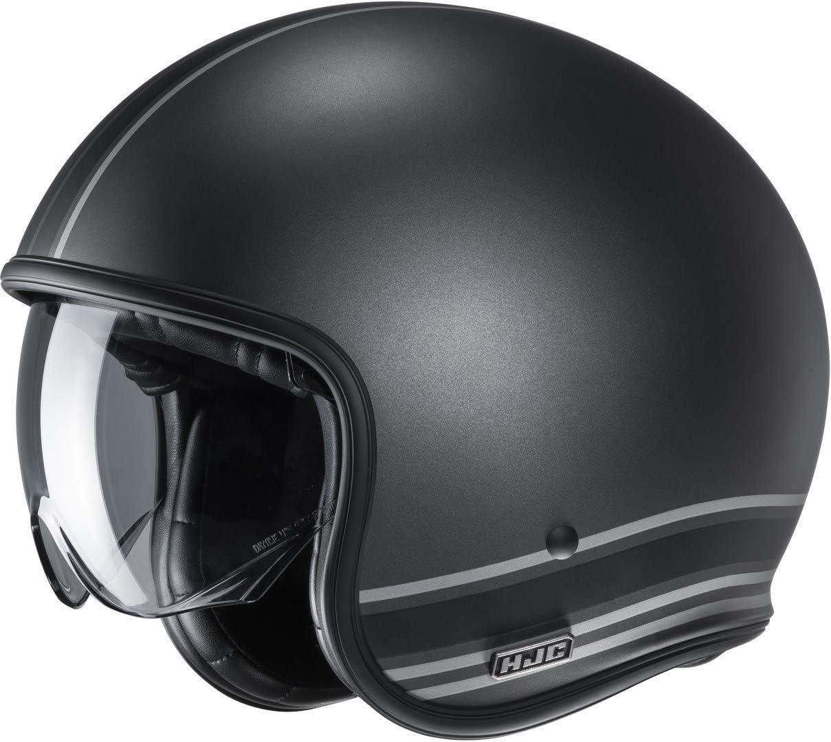 XS Motorradhelm HJC V30 SENTI MC5SF Schwarz