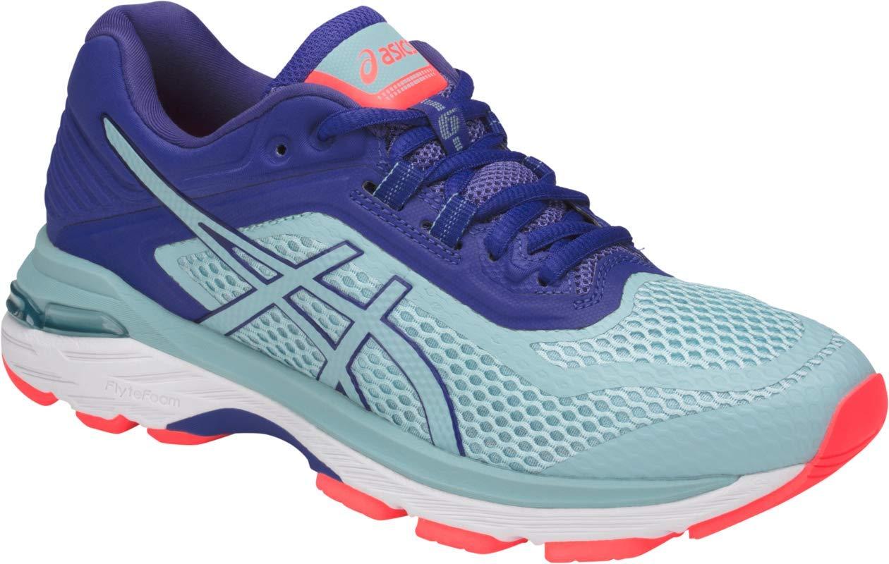 ASICS GT-2000 6 Women's Running Shoe, Porcelain Blue/Porcelain Blue/ASICS Blue, 5 M US