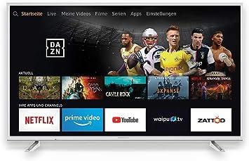 Grundig 55 GUW 7060 Fire TV Weiãÿ - LC: Amazon.es: Electrónica