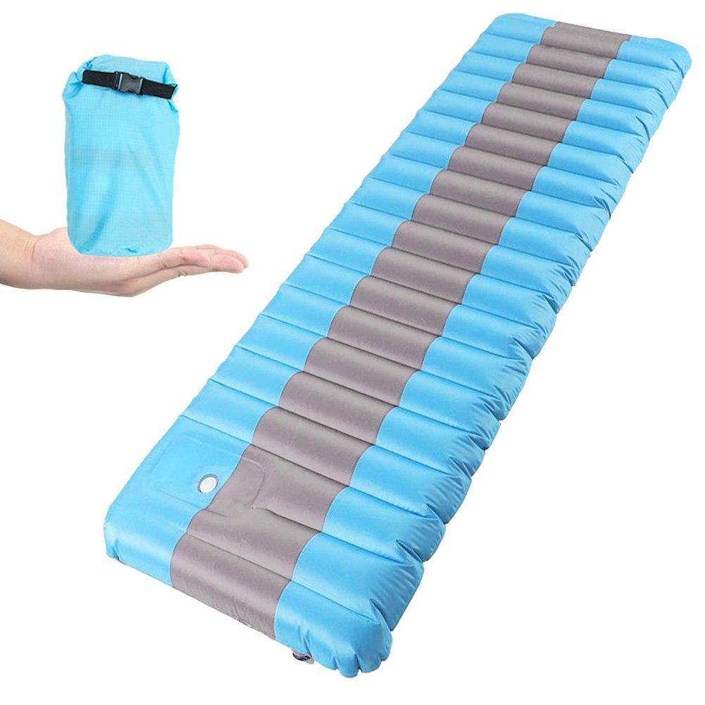 Esterilla Inflable, Vivicool Colchón Inflable camping Ultraligero Cama Inflable Colchón de Aire Sleeping Pad al