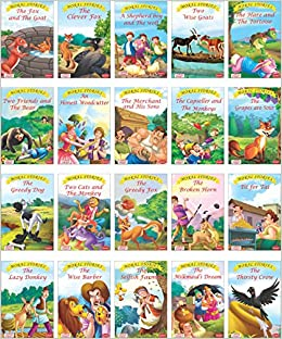 Buy Moral Stories books Set of 20 books (English) Book