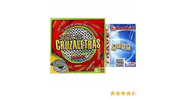 Goliath Sopa CRUZALETRAS+RUMMIKUB Promo: Amazon.es: Juguetes y juegos