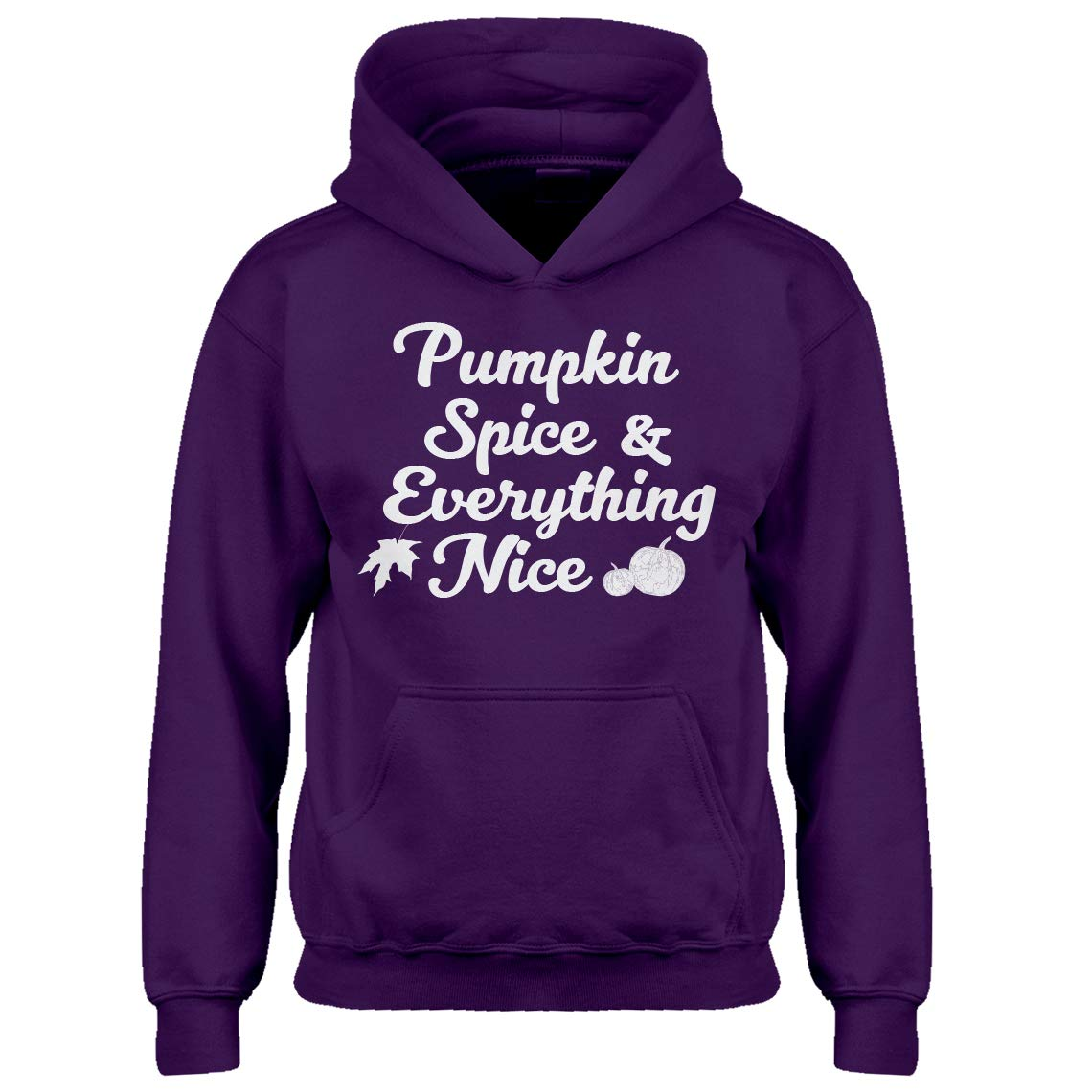 Indica Plateau Youth Pumpkin Spice and Everything Nice Kids Hoodie