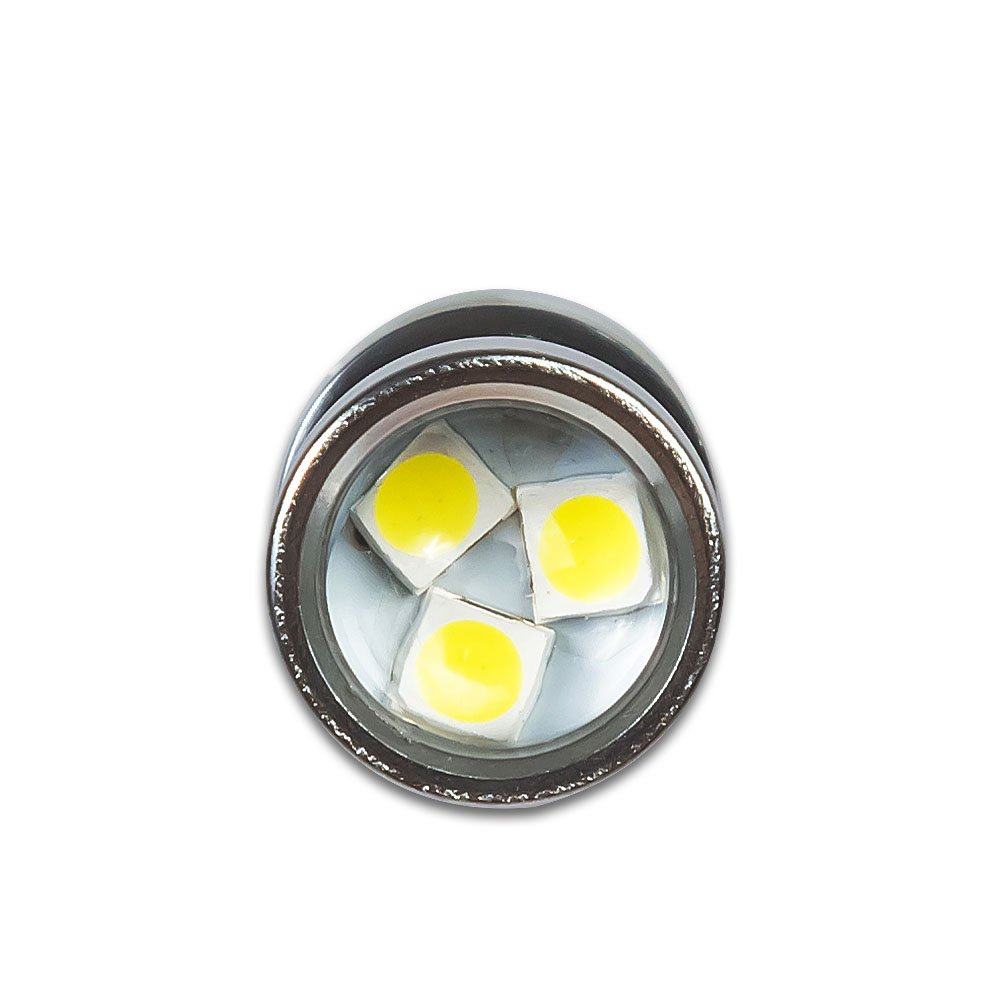 2Pcs T15 W16W 921 912 LED Car Light Bulb 750Lm 15 3030SMD Chipsets For Backup Reverse Lights Xenono White 6000K Pack of 2 Kashine