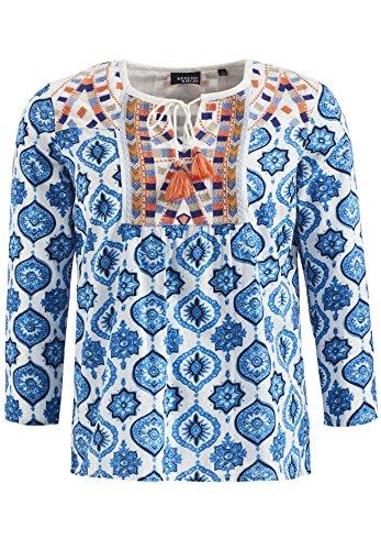 Camicia Khujo A Donna Dunkelblau 4 3 Maniche Basic OwwCdxqrB