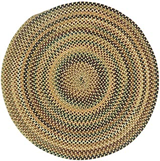"product image for Capel Bangor Sandy Beige 9' 6"" Round Braided Rug"