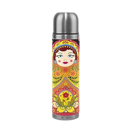Amazon.com: WangH - Botella de agua térmica de acero ...