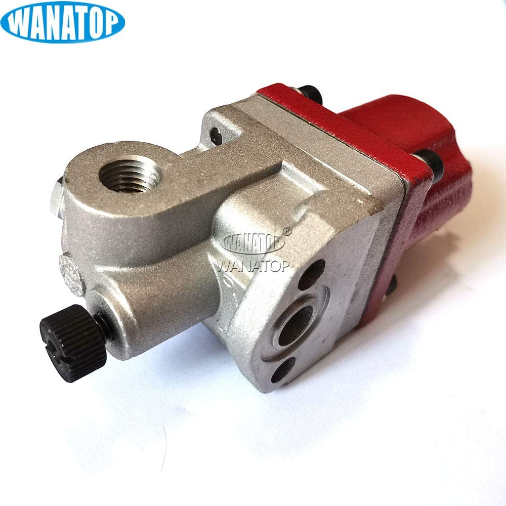 24V Engine Stop Solenoid Valve One Spade 3098354 3017993 3054609 For Cummins