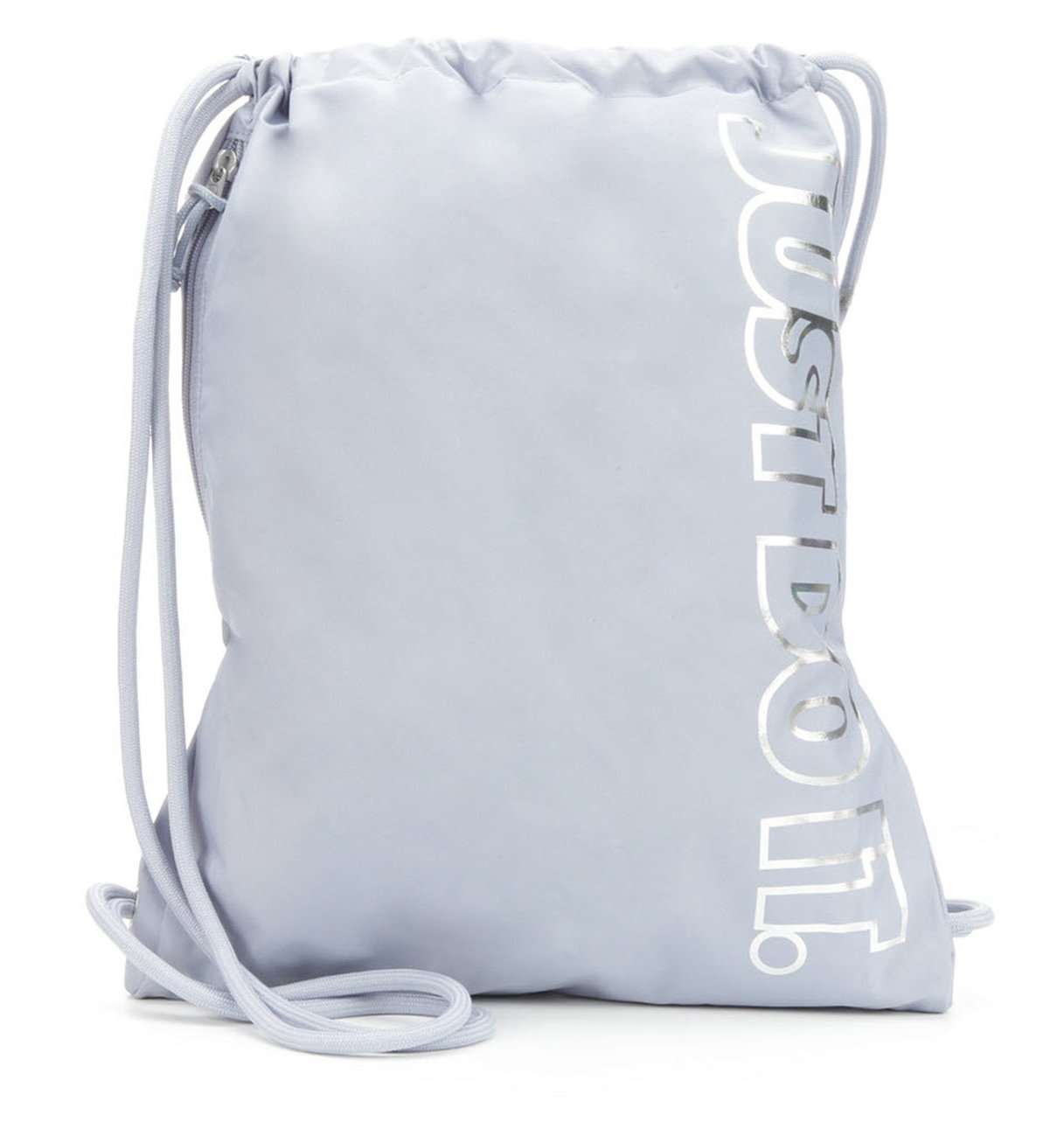 Nike Heritage Gym Sack (Silver Just Do It)