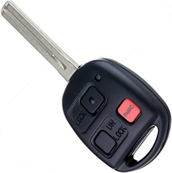 ECCPP Replacement fit for Keyless Entry Remote Key Fob Lexus LX470// GX470 HYQ1512V Pack of 2