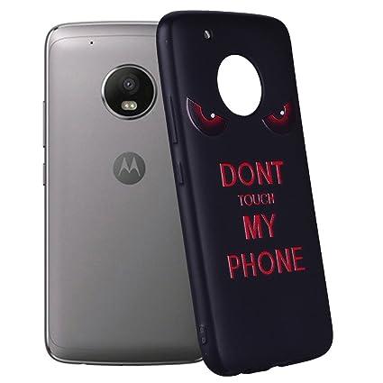 Yunbaozi Funda Motorola Moto G5 Plus Embossing Case Carcasa ...
