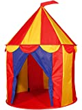 1 X Red Floor Circus Tent Indoor Children Play House Outdoor Kids Castle by POCO DIVO