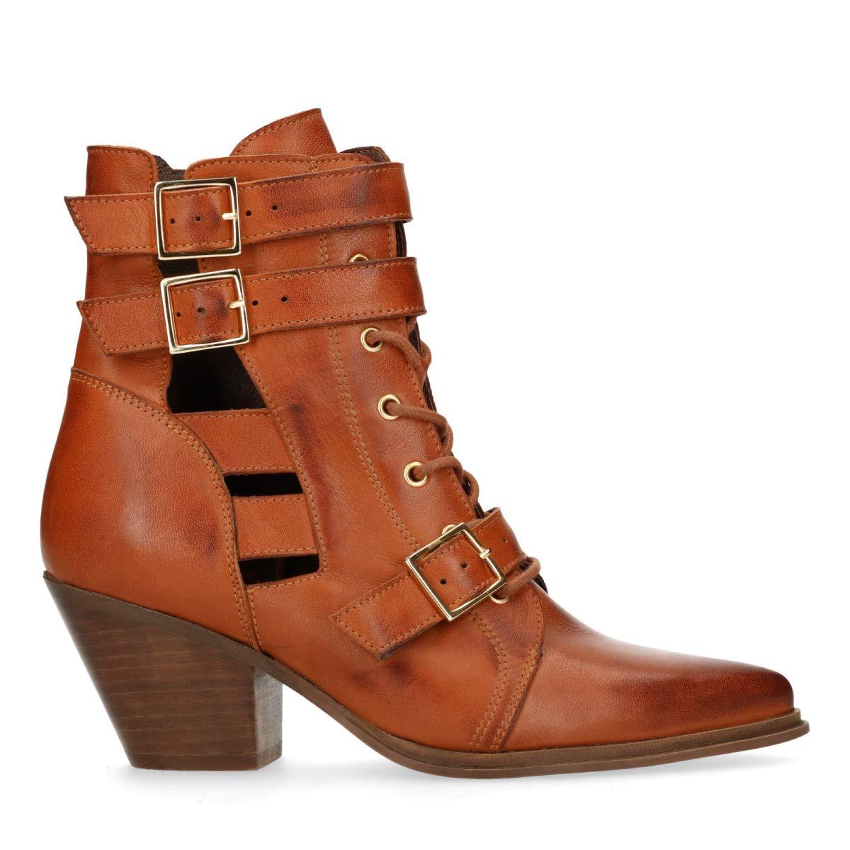 Sacha Schuhe   Damen Stiefeletten   Leder    | Spielzeugwelt, fröhlicher Ozean