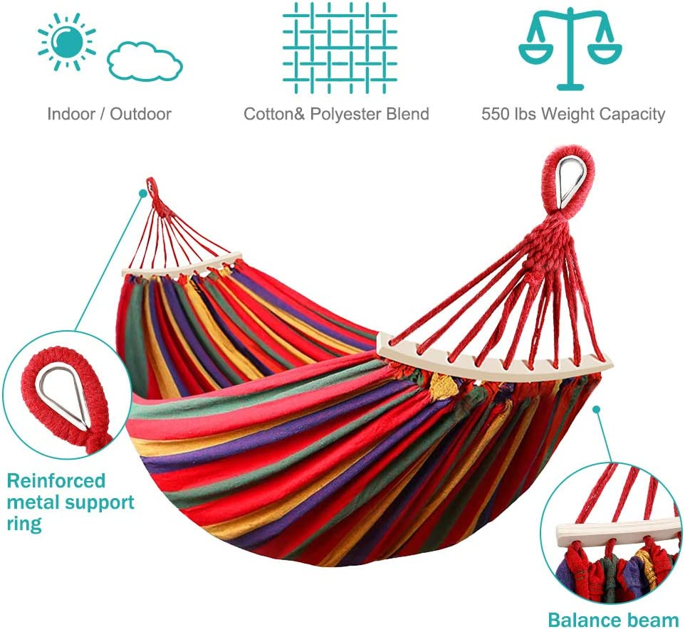 Amazon Coupon Code for 550lb Double Camping Hammock