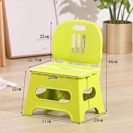 Juegos de mesa y sillas infantiles Silla Plegable para NiñOs ...