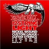 Best Ernie Ball String Lights - Ernie Ball 12-string Light Nickel Wound Set, .009 Review