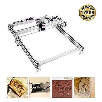 TOPQSC Máquina de grabado láser, enrutador cnc de madera, marca de ...