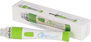 Care Touch CTLDA Adjustable Lancing Device with Ejector