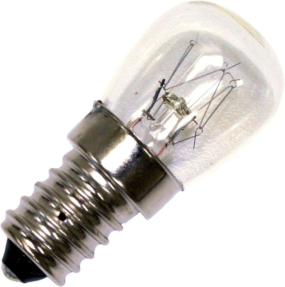 Satco 15142 15wpr E14 Oven 120 130v S7954 Indicator Light Bulb Incandescent Bulbs Amazon Com